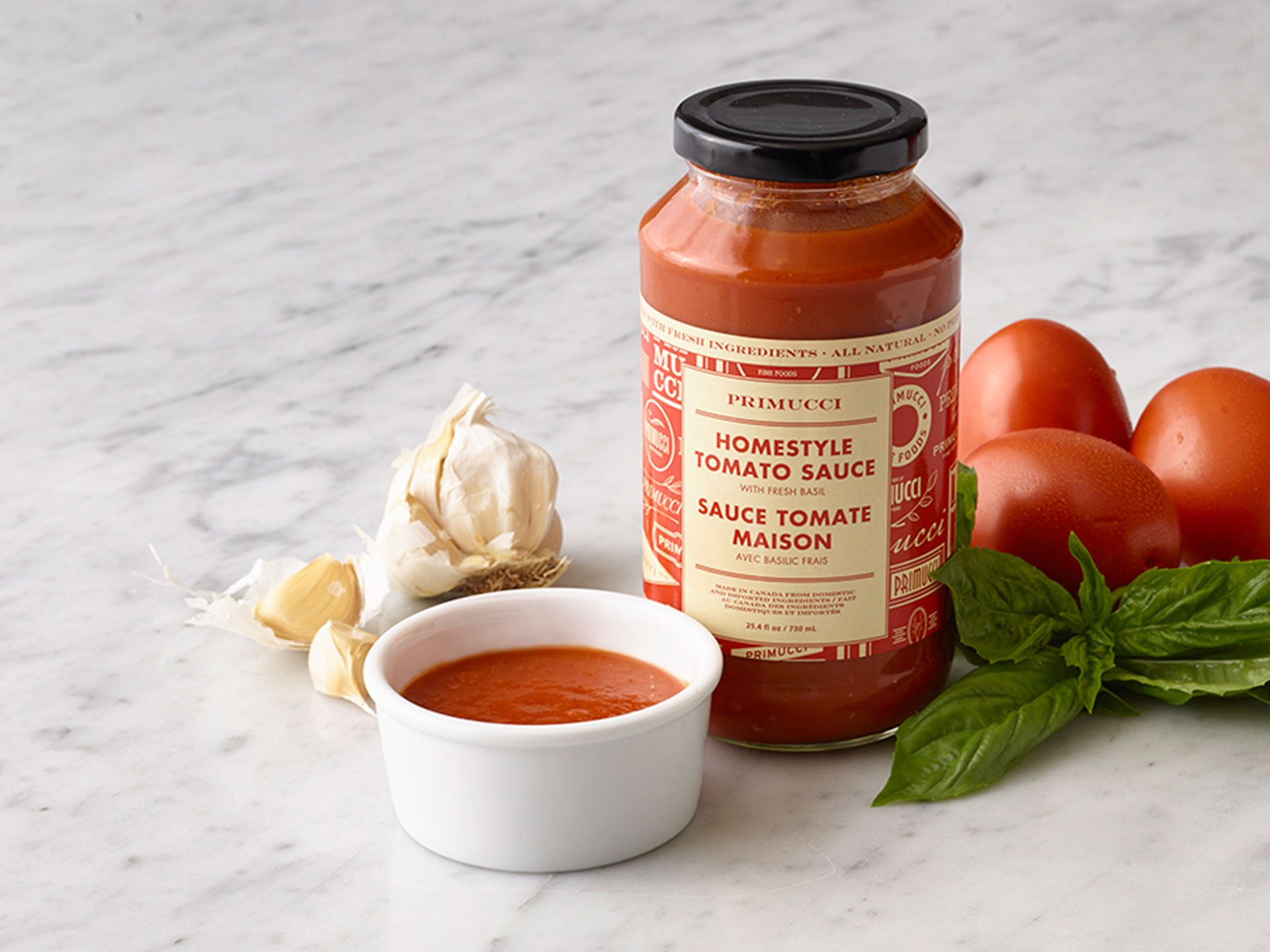 homestyle tomato sauce pizza nova