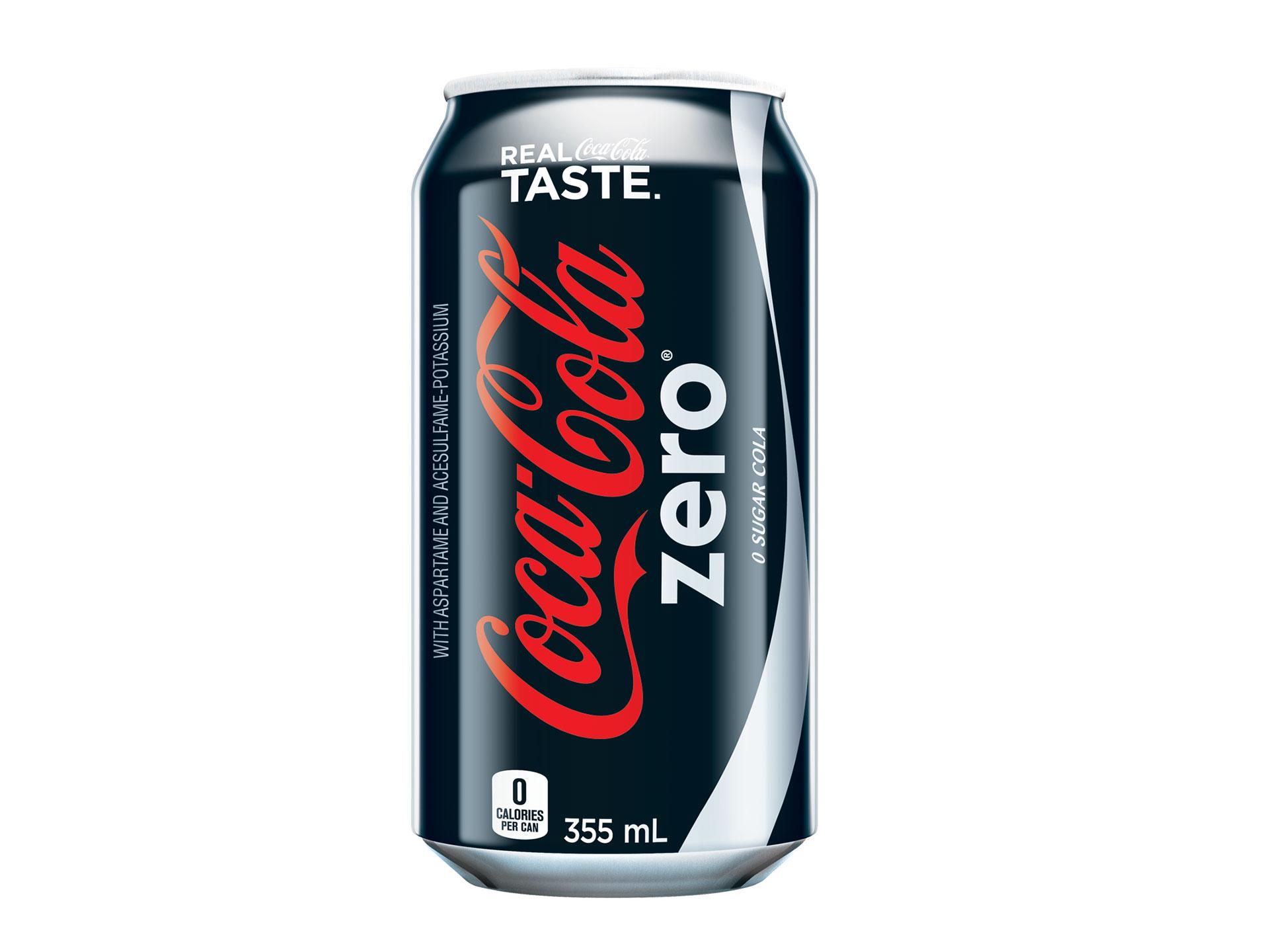 Coke Zero Pizza Nova