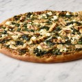 Pesto Pizza - Chicken Florentine