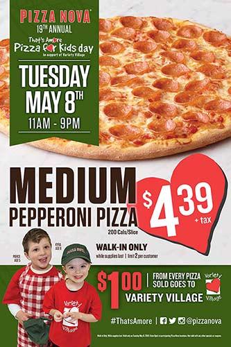 pizza nova amore campaign